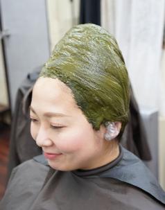 東京 天然ヘナ ハーブ100 ひまわり美容室 オーガニック ヘナカラー